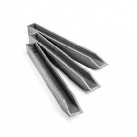 ECOPIC Bodenstifte Set Grau für ECOLAT-Länge 38cm-10 Stück